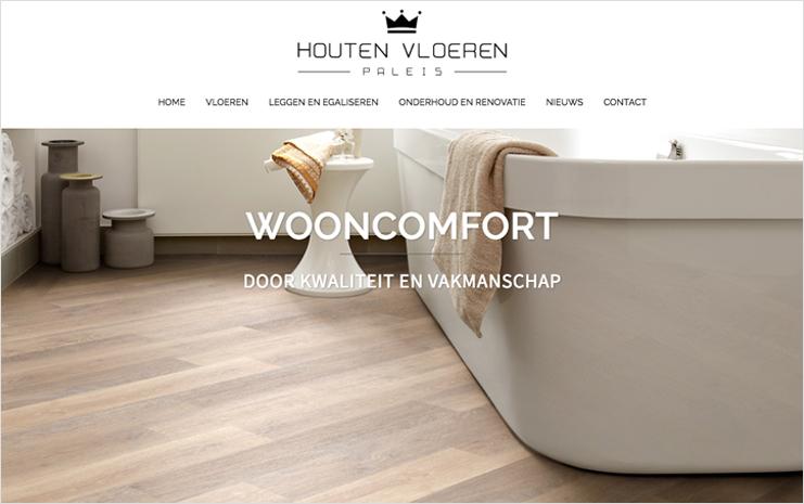 Houten Vloeren Paleis website