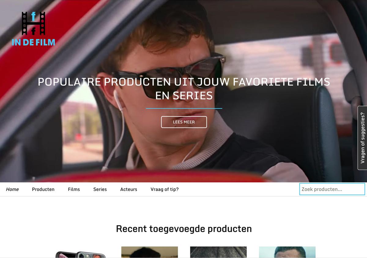 Indefilm website