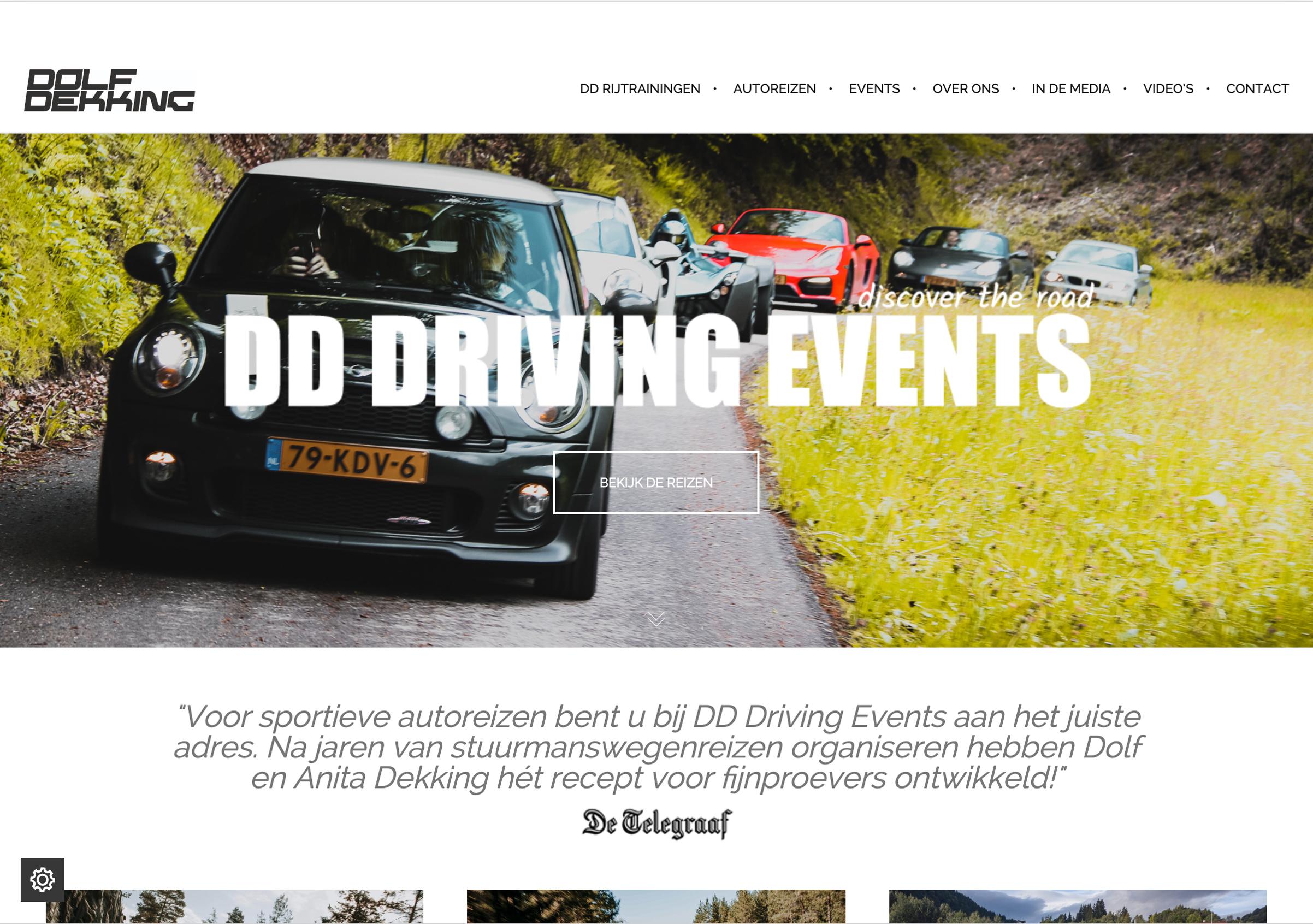 Nieuwe website Dolfdekking.nl